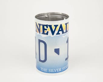 Nevada License Plate Pencil Holder - Stocking Stuffer - Teacher Gifts  -Gifts for Coworkers  Gifts for Employees - Las Vegas Nevada souvenir