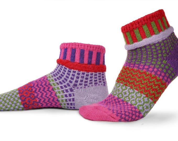 Solmate Socks - Hyacinth Anklet Socks
