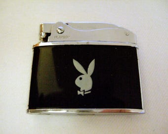 Elegant Classy Collectible Vintage Playboy Bunny Cigarette Lighter Memorabilia Cool Gift for Him Father's Day Gift Unique Gift for Her