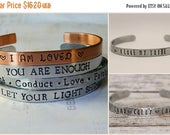 15% off entire shop Design Your Own Hand Stamped Aluminum Cuff Bracelet, custom bracelet, personalized, children's names, gift