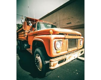 Americana Wall Art 'Old Dump' by Meirav Levy - Classic Truck Decor Country Rustic Photography Artwork on Metal or Plexiglass
