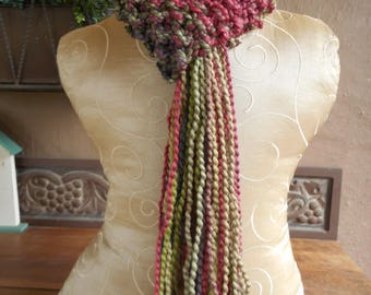 hand knit scarf, hand knit scarves