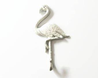 Flamingo Wall Hook, Flamingo Wall Decor, Girl Room Decor, Pool Towel Hanger, Bathroom Decor, Decorative Coat Hook, Miami Style, Mingo