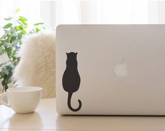 Cat Decal, Curious Kitty Decal, Kitty Decal, Cat Car Decal, Car Decal, Laptop Decal, Tumbler Decal, Vinyl Decal
