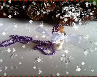 REF 44 marshmallows vial pendant necklace