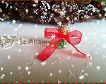 Canes ref 110 vial pendant necklace