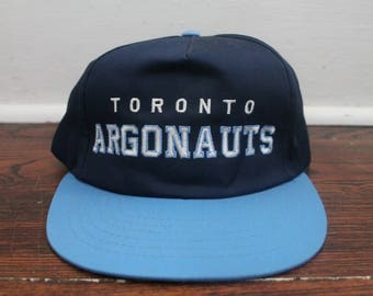 Toronto Argonauts snapback hat vintage CFL football cap ted fletcher