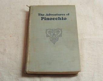 1939 Pinocchio, by C. Collodi, Illustrations by Louise Beaujon
