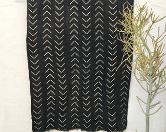 Black Mudcloth Fabric   African Mudcloth Textiles Mud cloth Fabric African Fabric African Mud Cloth Tribal Fabric Boho Decor Tribal Decor 38