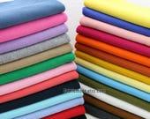 "62 Colors Choose Ribbing- 7.8"" Length 20 x 100cm Ribbing and Binding Knit Fabric For Neckline, Cuffs, Hems"