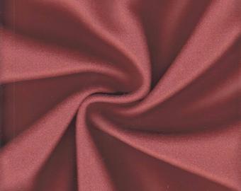 Maharam Upholstery Fabric Kvadrat Divina Wool 4.125 yards Burnt Orange 460730–552 (NQ1)