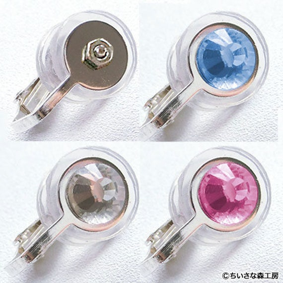 compression earrings φ10mm 0 40in clip on pressure earring for keloid scars 1505