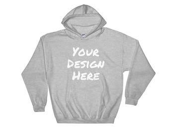 Custom Hooded Sweatshirt, Custom Hoodie