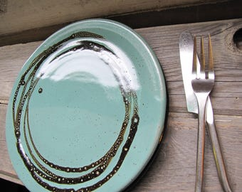 Dinner plates - dinnerware - dish sets - ceramic plates - rustic plates - pottery plates - plate sets - white plates - wedding