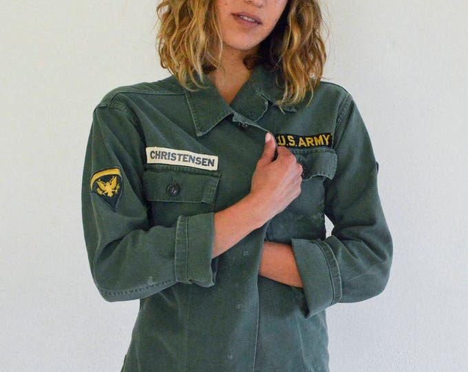 Patched U.S. Army Jacket
