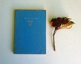 Animal Book, Vintage, Blue Hard Cover, Wild Animals by Eric Leyland, 1955, England - Nature Book, Children