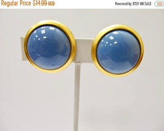 ON SALE JOAN Rivers Blue Bauble Earrings Item K # 1221