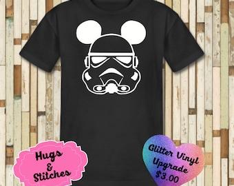 Mickey Storm Trooper Disney Shirt