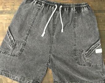 Benetton Charcoal Grey Board Shorts