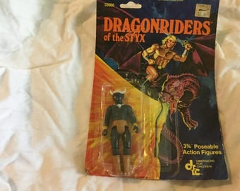 Vintage Rare  still in package Dragonriders of the STYX -Guliz the Ogre