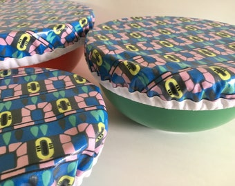 Fabric Bowl Covers, Bowl Cover, Food Storage, Eco Friendly, Reusable Bowl Cover, Bowl Covers, Kitchen Decor, Washable Bowl Covers, Reusable