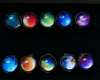 Set of 10 GALAXY rings