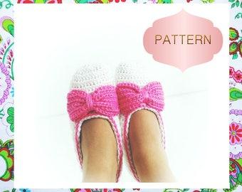Kate Slippers Crochet Pattern