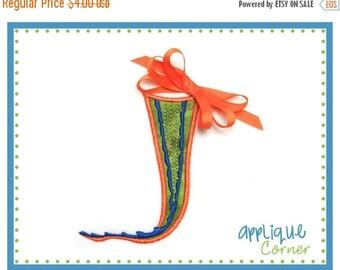 40% OFF 038 Gator tail applique digital design for embroidery machine by Applique Corner