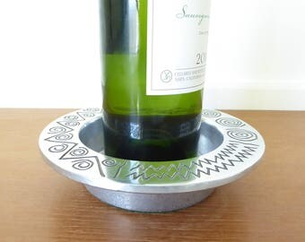 Wilton Reggae wine bottle coaster