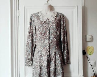 Laura Ashley vintage flowers dress