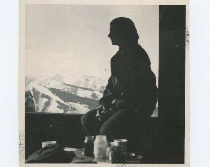 Vintage Snapshot Photo: Mountain View (78603)