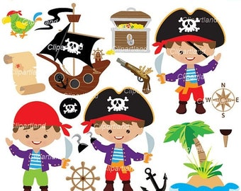 ON SALE INSTANT Download. Pirates clip art. Cp_76. Personal and commercial use.