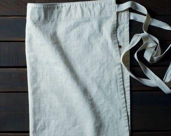 Natural White Bistro Apron - Made in U.S.A.