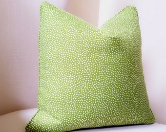 Duralee by John Robshaw pillow cover, pick your pillow size, also available in knife edge or with welt - Modern Pillow