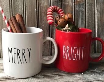 Christmas Mug Etsy