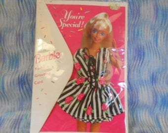 "1994 Barbie ""You're Special"" Greeting Card-Sealed"