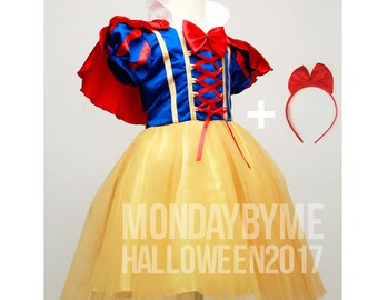 Snow White costume Photo shoot Snow White dress outfit Birthday dress Snow White costume dress for Birthday party