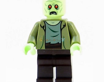Monster Zombies and Ghost Horror Theme Movie Minifigure Custom Lego Toy & Collectible, Brick Building Block Toy Set Scooby Doo