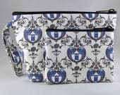 Doctor Who Make Up Bag and Coin Purse Set - Accessory - Cosmetic Bag - Pouch - Gift