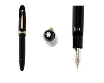 Vintage Montblanc Meisterstuck 149 Gold Fountain Pen