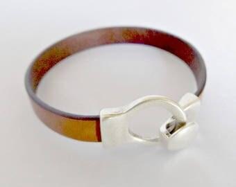 Mens leather bracelet, leather bracelet for men, leather bracelet, mens bracelet, bracelet for men, bracelet leather, gift for men