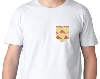 Pizza Pocket Tee, Tshirt, Level Apparel