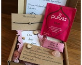 Care box Hygge , self care, Wish string, thinking of you, friendship, best friend gift box, feel better soon, Thank you, love, best wishes