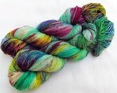Handdyed SockYarn, 75 Wool, 25 Nylon 100g 3.5 oz. Nr. 792