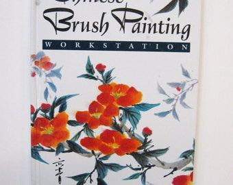 Art Instruction Book Chinese Brush Painting Workstation DIY Illustrated Art Book Price Stern Sloan-Design How To Book Chinese Brush Painting