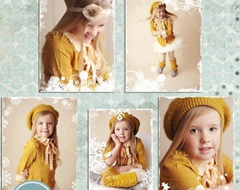 ON SALE NOW Instand Download - Photo Overlays, Snowflake Overlays, Christmas Overlays, Photoshop