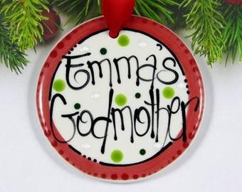 Goddaughter ornament  Etsy