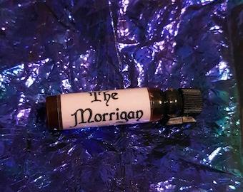 The Morrigan Goddess Perfume Oil - Osmanthus, Neroli, Citrus Accord, Cardamom, Ylang Ylang, Clove, Dragon's Blood Resin, Cypress and Vetiver