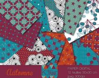 "Paper ""Autumn"" digital download"