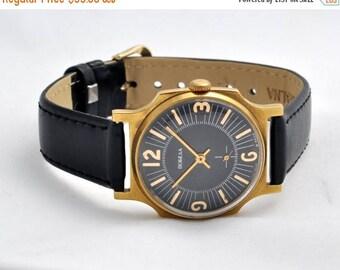 "ON SALE Soviet watch""Victory"" , Russian watch, Vintage Watch ,Mens watch, classic watch, Watch Men, boyfriends watch ,Gold Watch"